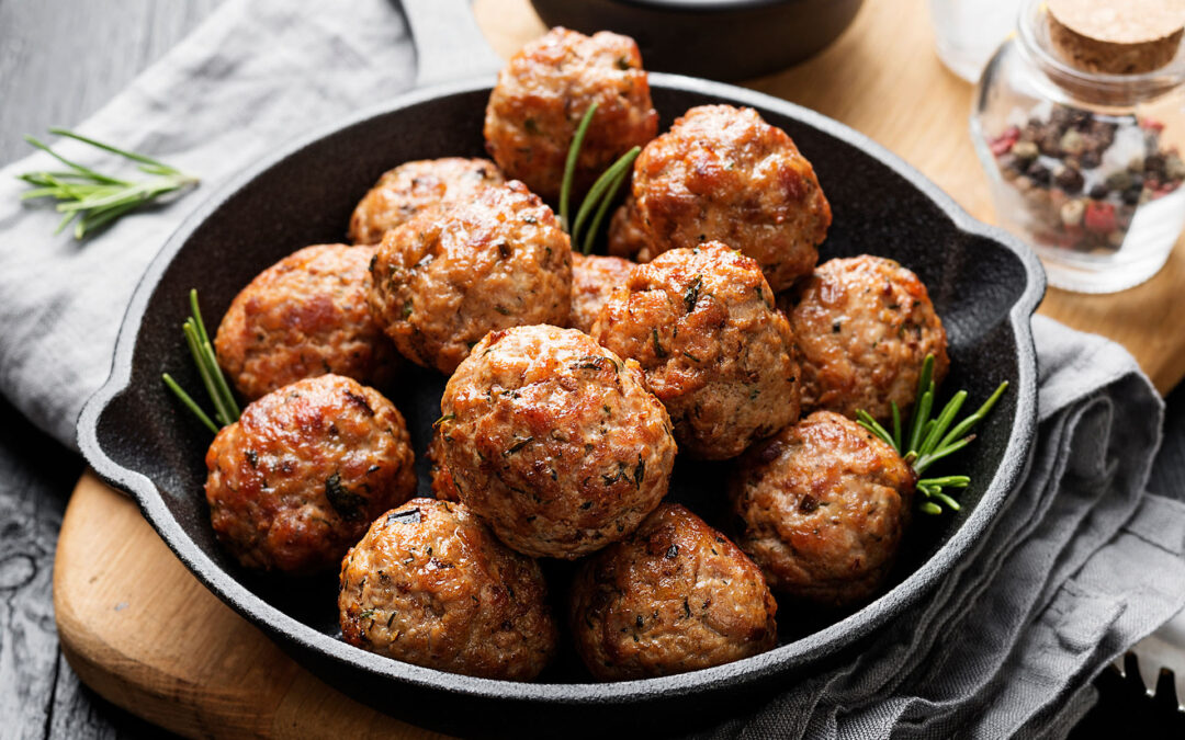 """""""First Thing First"""":  Authentic Italian Meatballs"""